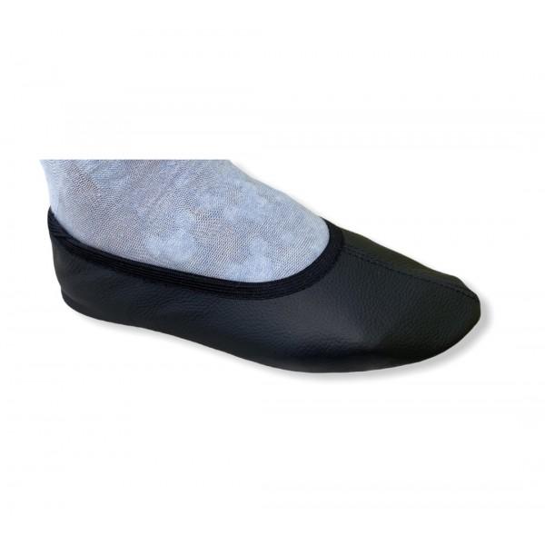 Gimnastikos bateliai odiniai Beck-vokiški češkės juodos