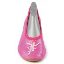 Gimnastikos bateliai Beck-vokiški češkės rožinės Balerina
