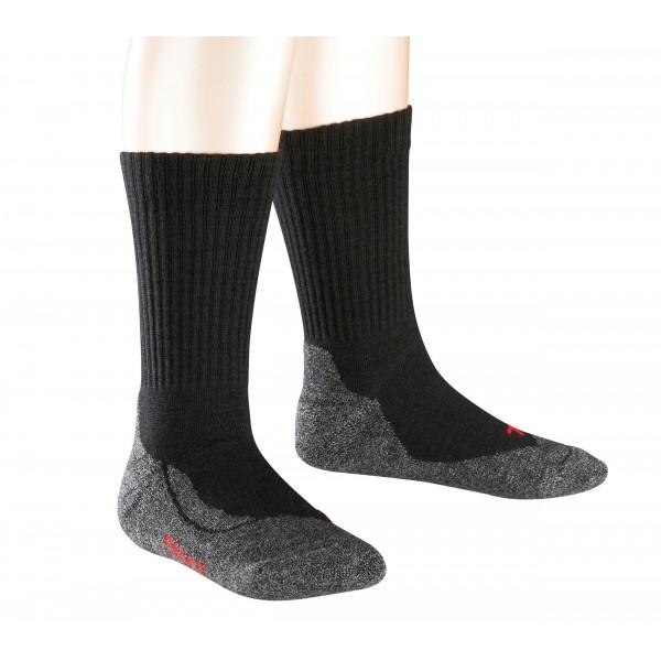 Kojinės Falke Active Warm juodos 19-22 dydis